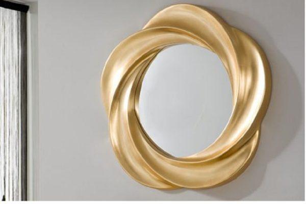 Зеркало PU 177 GOLD купить в салоне-студии мебели Барселона mnogospalen.ru много спален мебель Италии классические современные