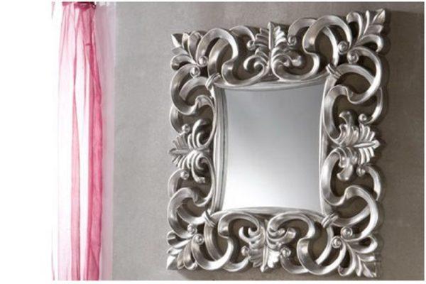 Зеркало PU021 SILVER купить в салоне-студии мебели Барселона mnogospalen.ru много спален мебель Италии классические современные