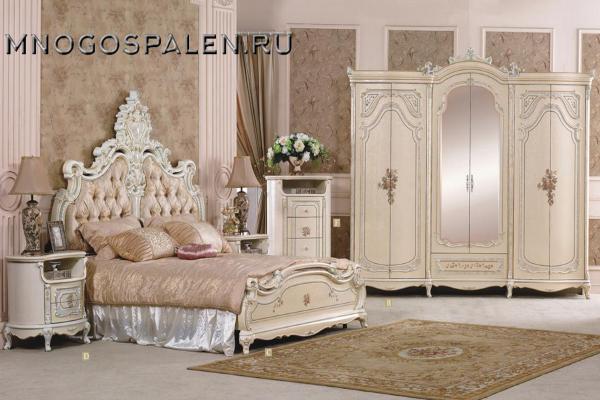 купить спальня королева салон итальянский мебели барселона в санкт