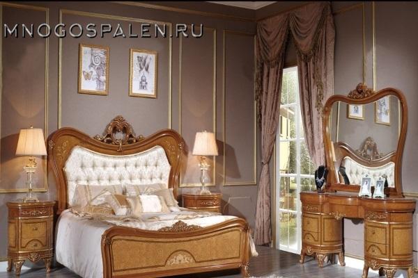 Cпальня Катания 3908D купить в салоне-студии мебели Барселона mnogospalen.ru много спален мебель Италии классические современные