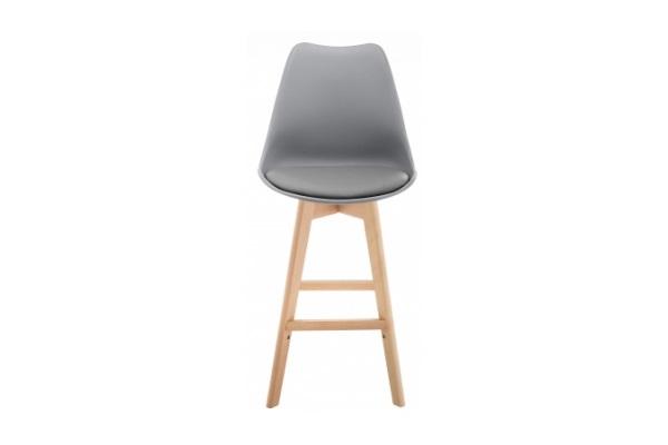Барный стул Burbon серый купить в салоне-студии мебели Барселона mnogospalen.ru много спален мебель Италии классические современные