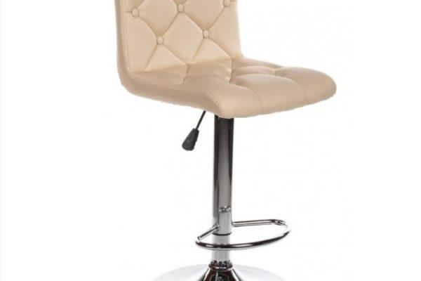 Барный стул Sandra бежевый купить в салоне-студии мебели Барселона mnogospalen.ru много спален мебель Италии классические современные