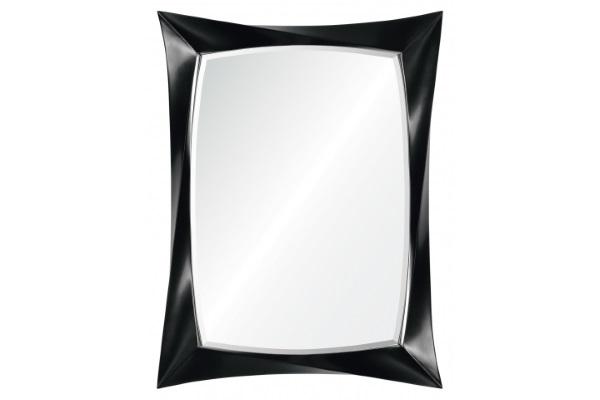 Зеркало Florida А88012-2 черное купить в салоне-студии мебели Барселона mnogospalen.ru много спален мебель Италии классические современные