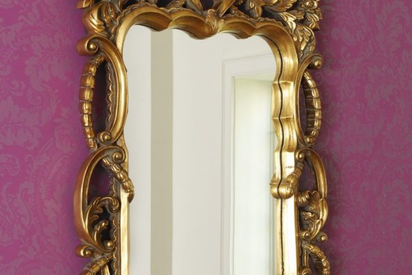"""Зеркало в раме """"Беатриче"""" Vienna Gold/09 LouvreHome купить в салоне-студии мебели Барселона mnogospalen.ru много спален мебель Италии классические современные"""